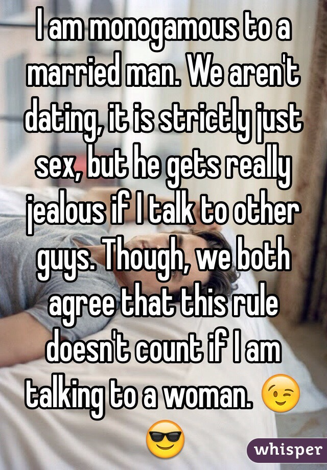 Rules for dating a married man by guy