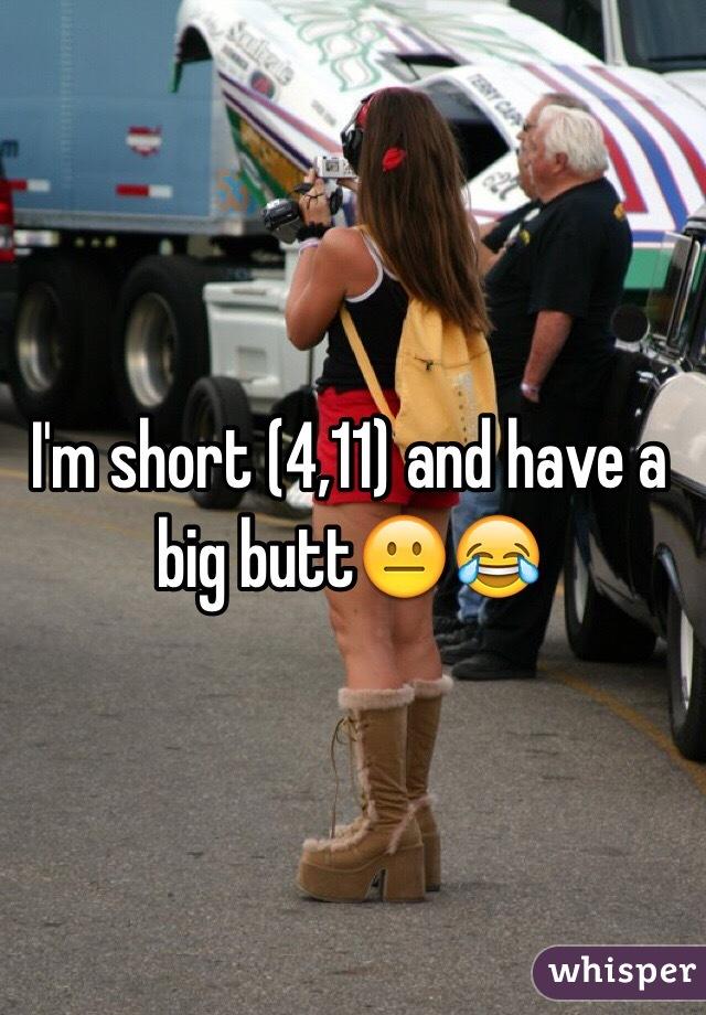 Short girls big butts