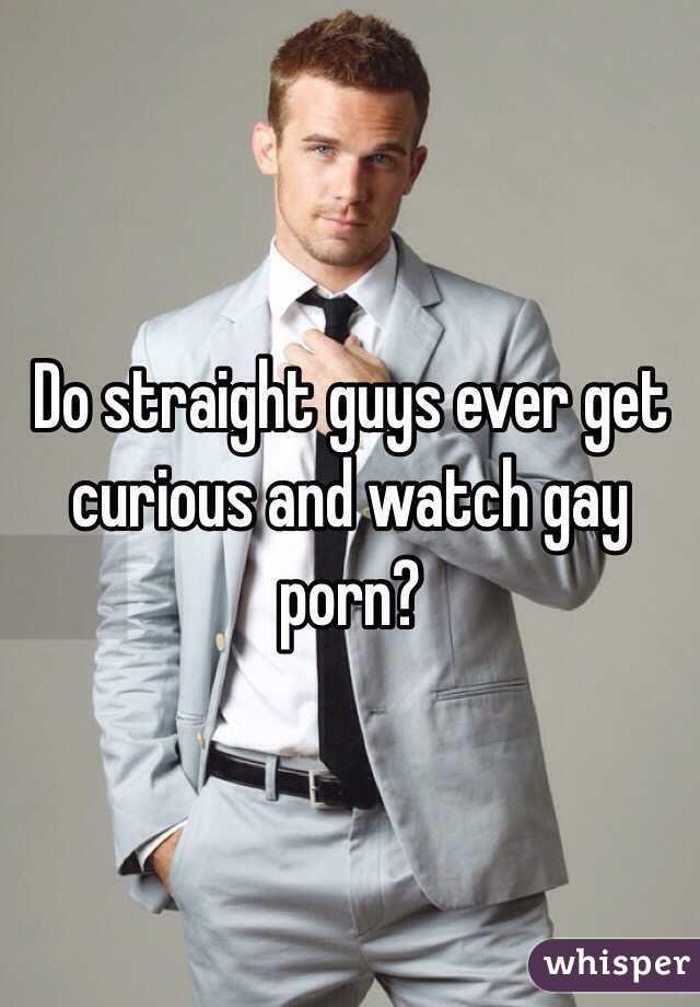 Curious guys messing around gay porn