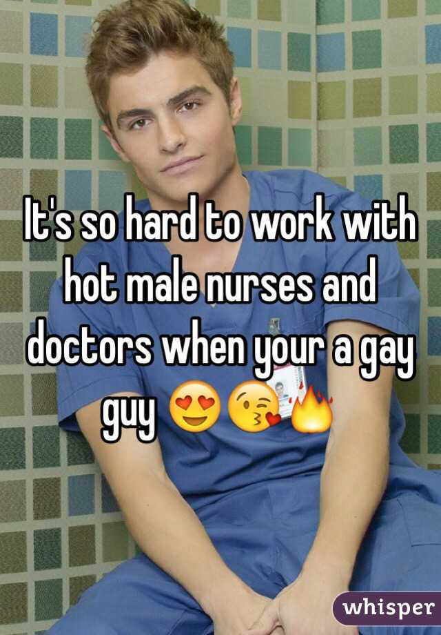 hot guy nurse