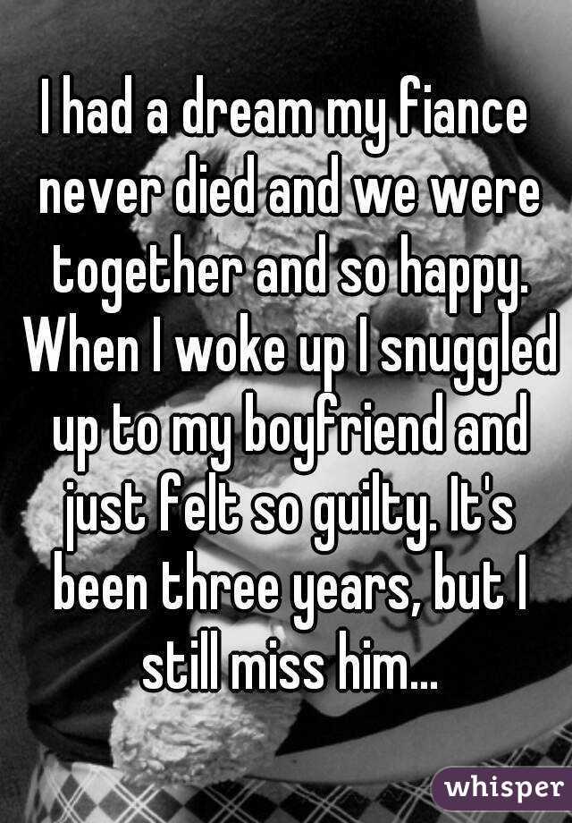 dreamed my boyfriend died