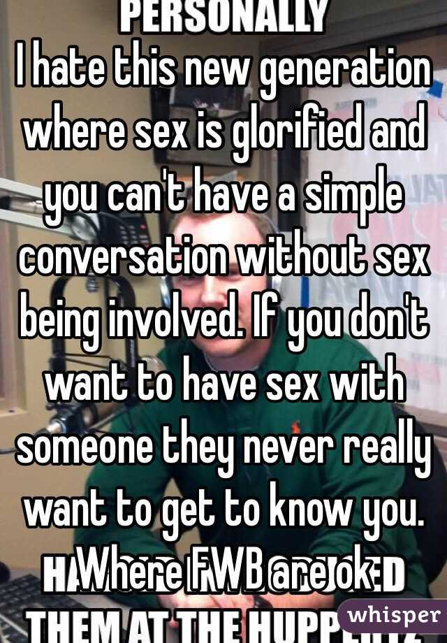 Having sex with someone you hate
