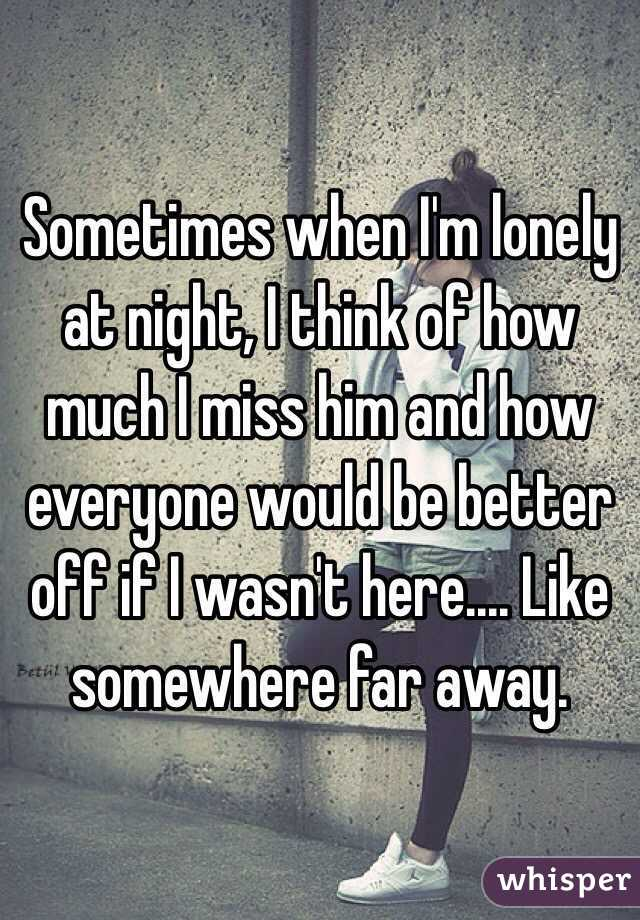 At When Lonely What To Night Do