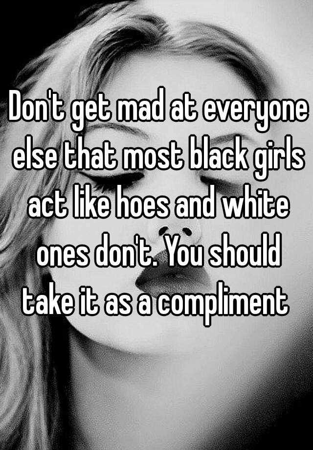 Black girls hoes