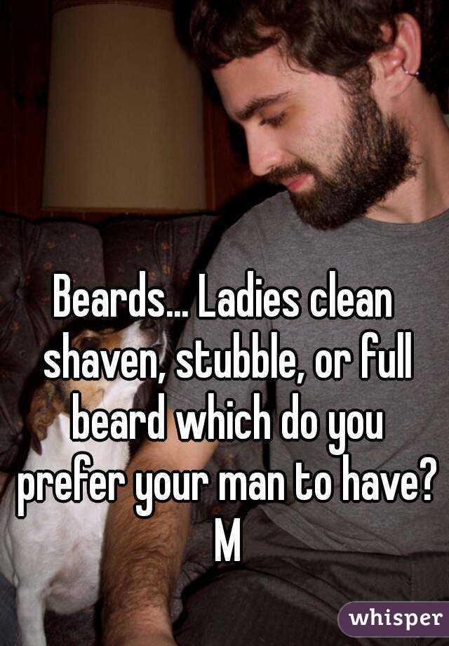 Clean shaven ladies