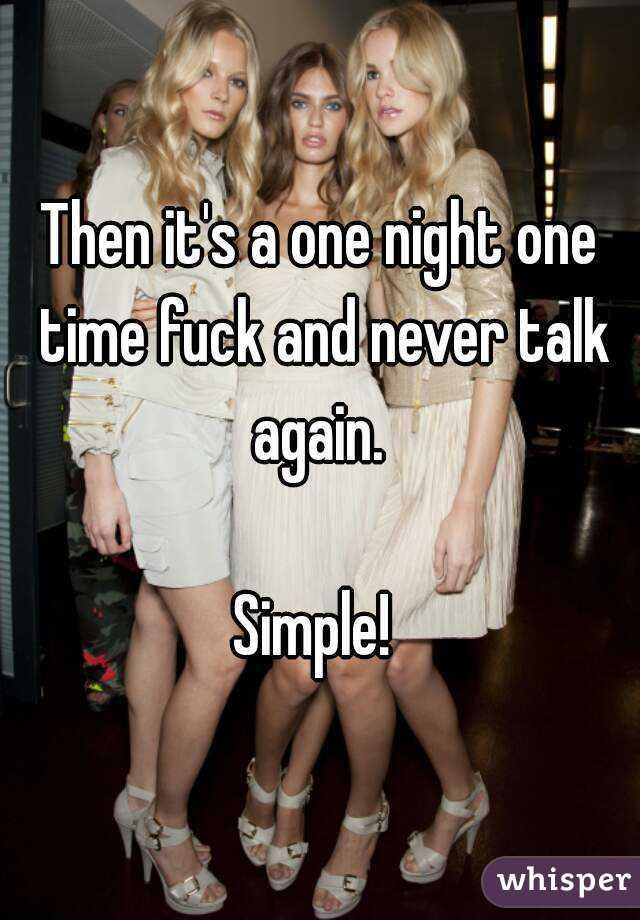Night time fuck