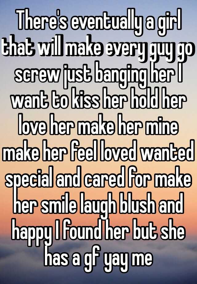 What to say to make your girlfriend smile