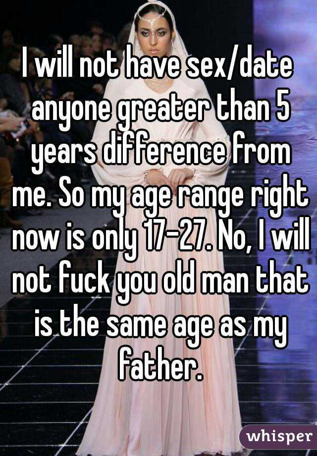 No sex for 5 years