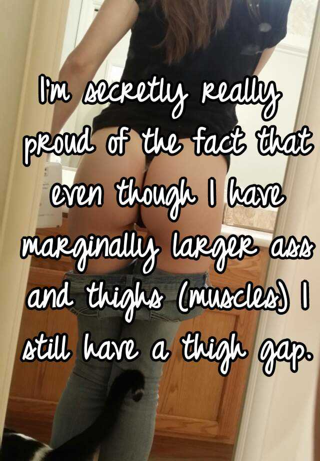 thigh gap facts