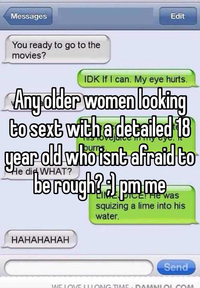 Women looking to sext