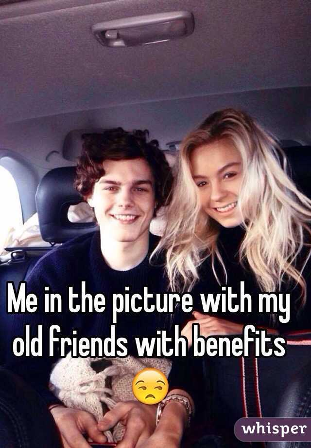 Me in the picture with my old friends with benefits 😒