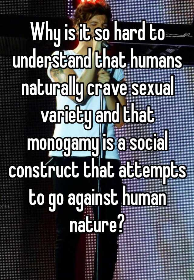 Are humans sexually monogamous