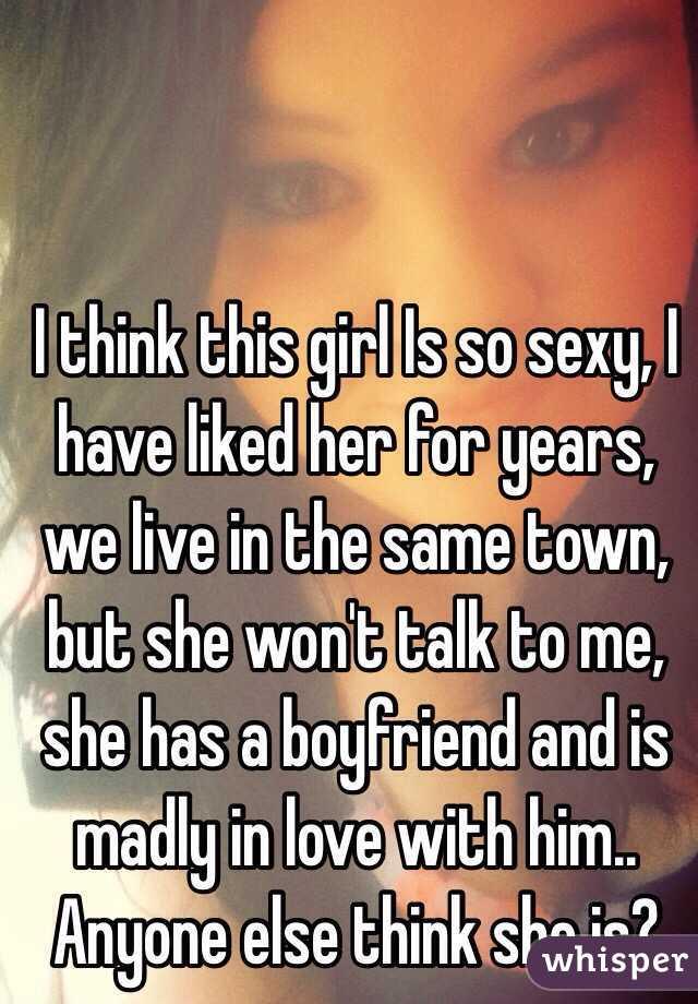 Sexy talk to girlfriend