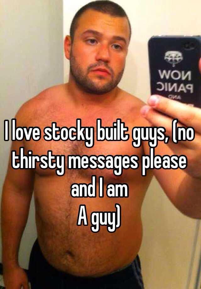 Stocky person