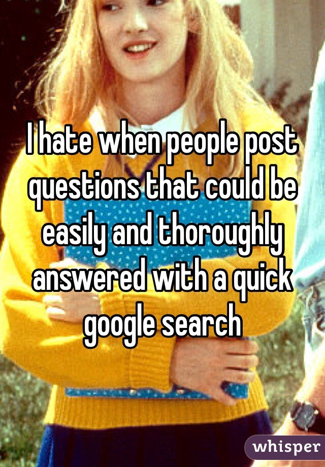 I hate when people post questions that could be easily and thoroughly answered with a quick google search