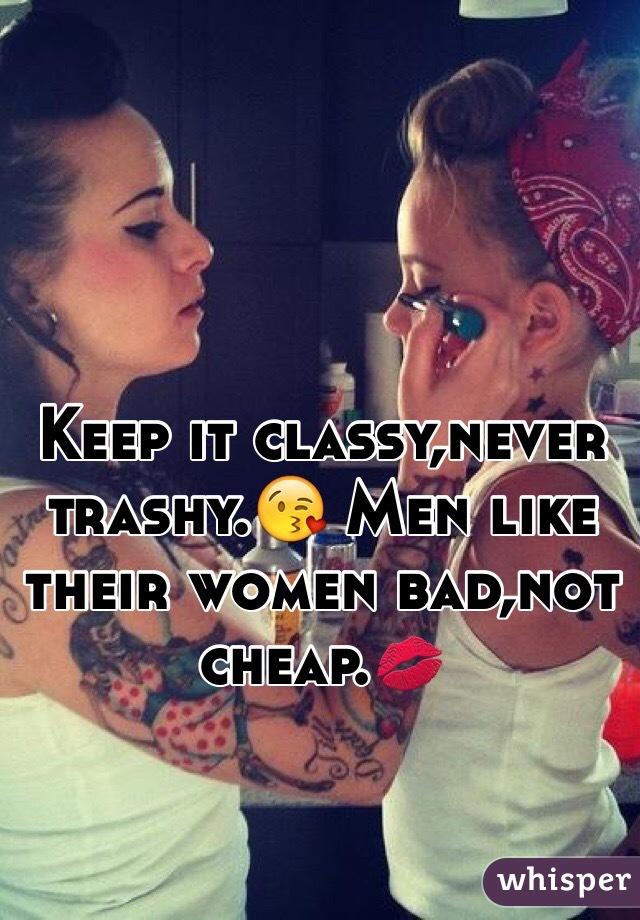 Do men like classy women