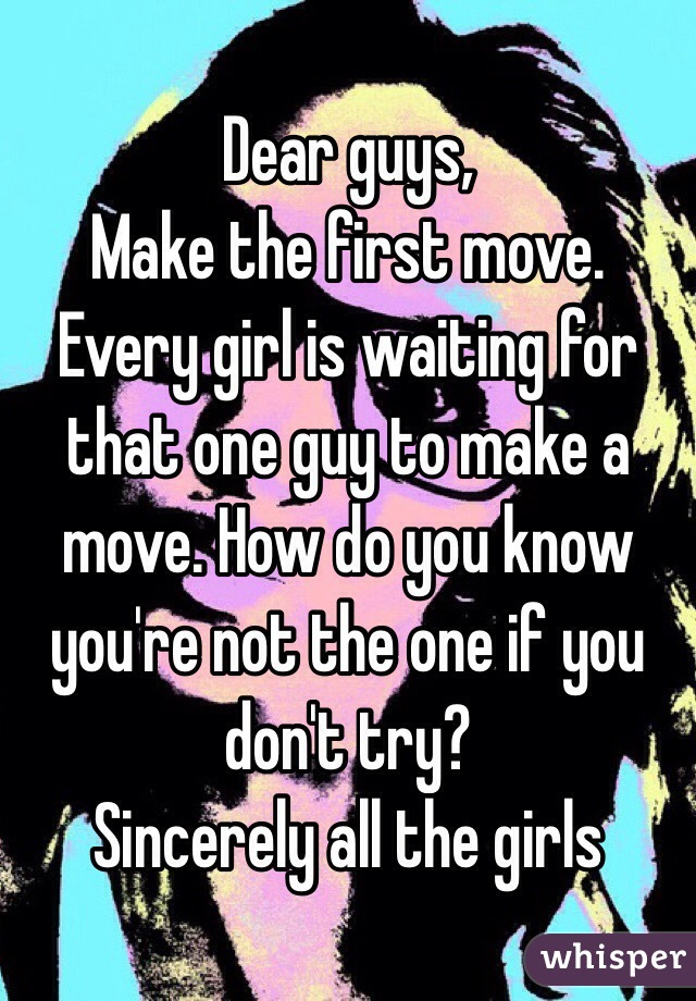 How to make first move on girl