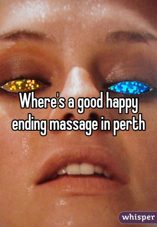 Perth massage happy ending