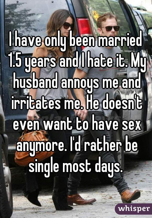 Husband doesnt want sex anymore