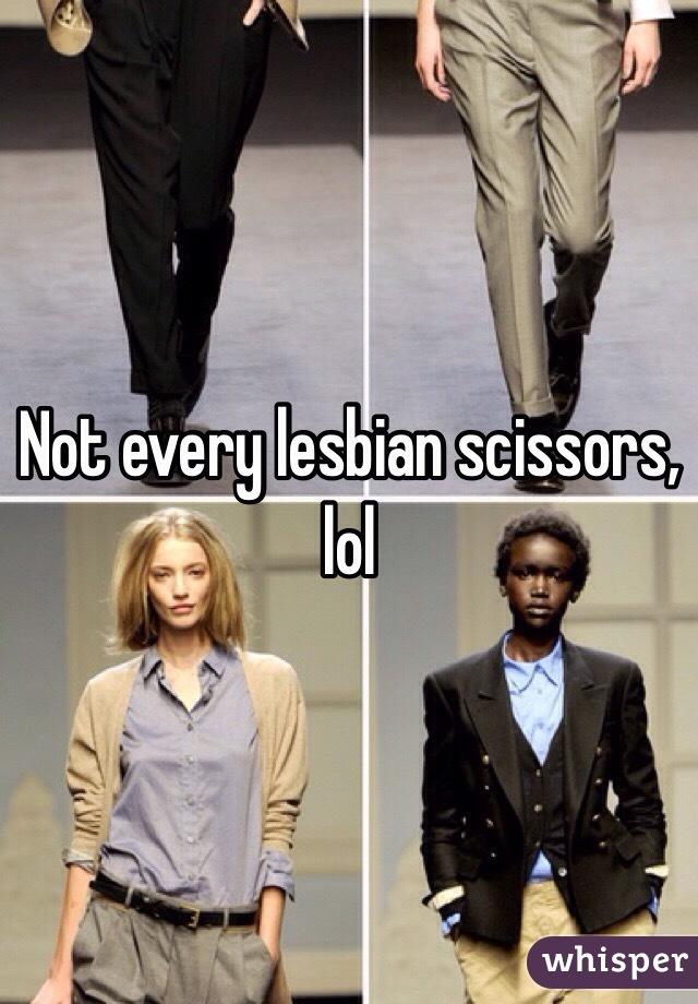 Lesbian scissors pics