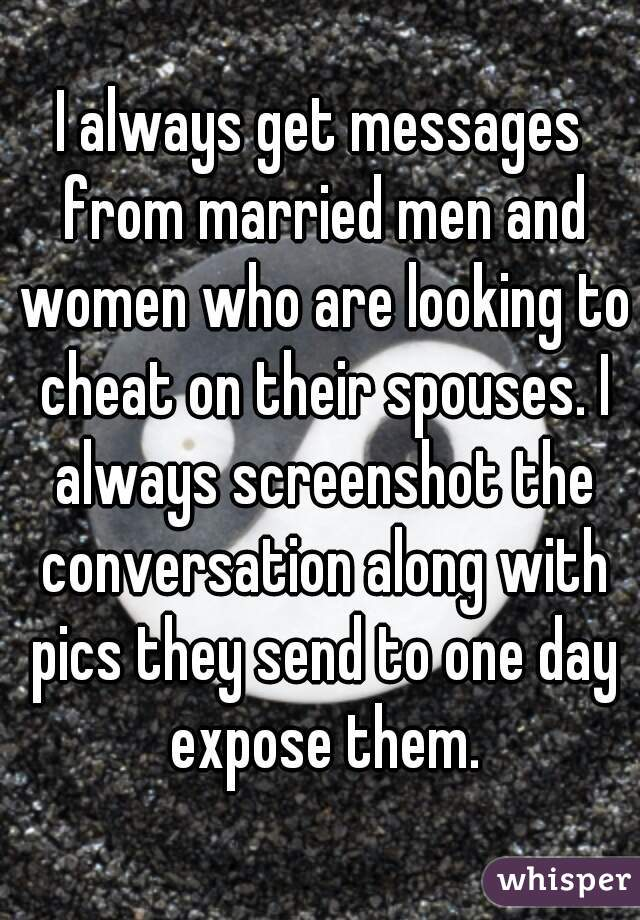 Women that cheat with married men