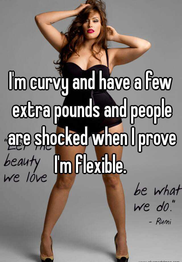 A few extra pounds