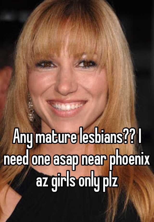 Mature lezbians