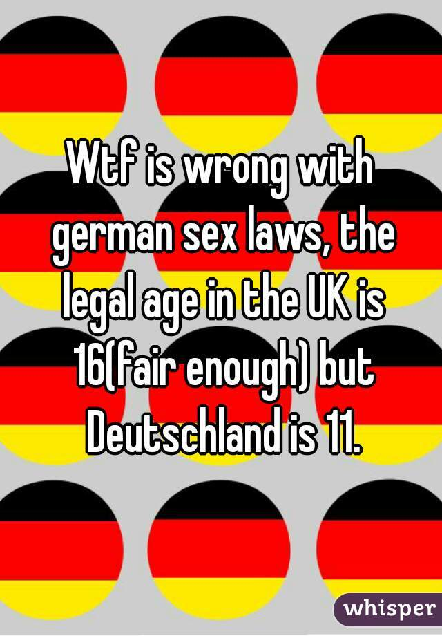 What is the legal sex age — photo 7