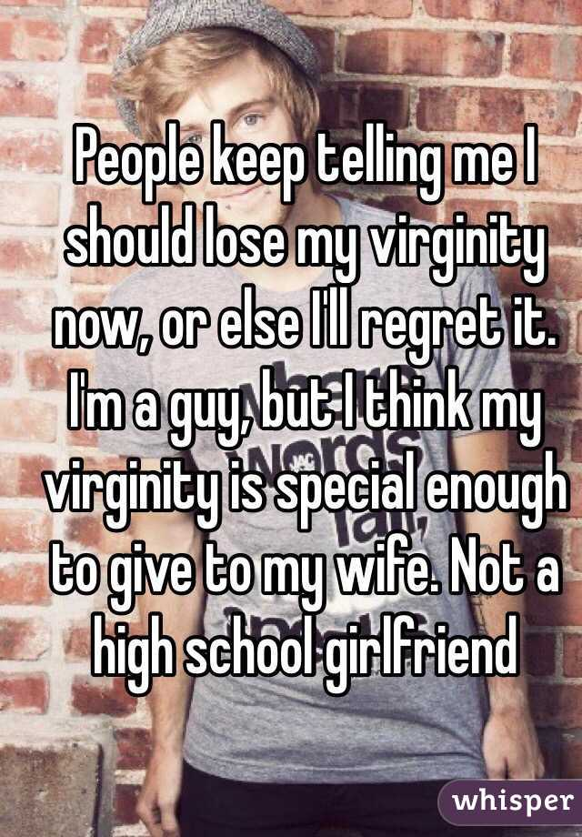 I really want to lose my virginity
