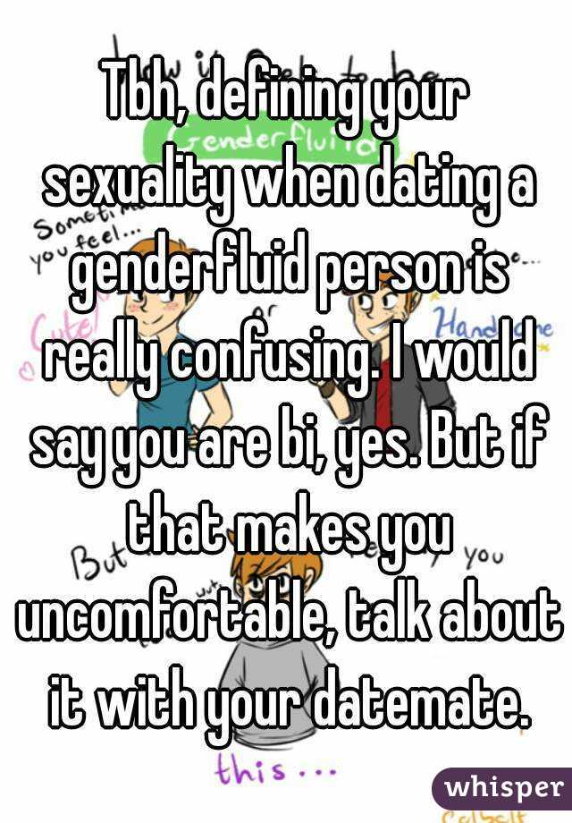 Dating a genderfluid person