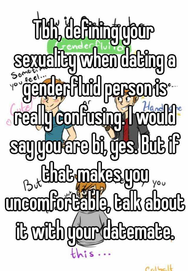 Genderfluid dating