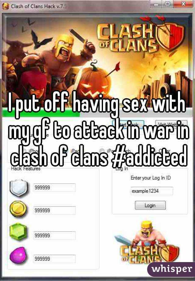 Clash Of Clans Having Sex