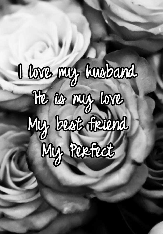 Is my hubby friend my best My Husband
