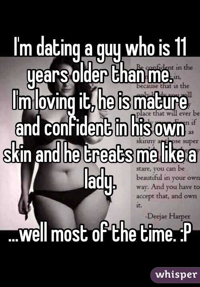 Dating a guy 1 year older