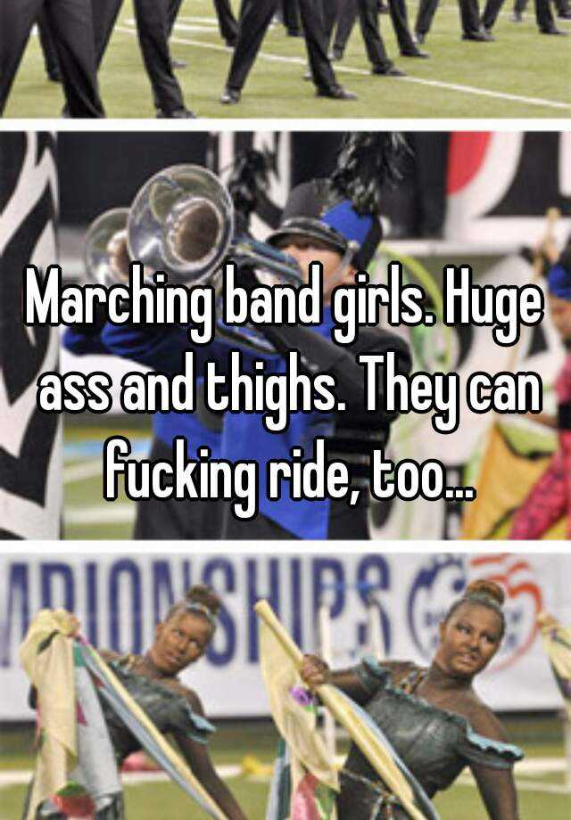 Marching band girls fucking