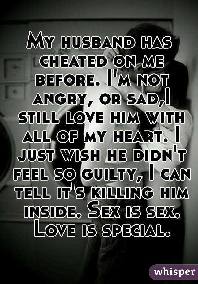 I Told My Husband I Cheated On Him