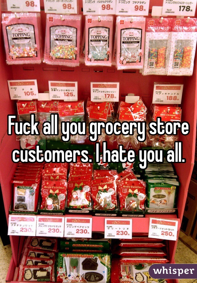 Fuck at grocery store