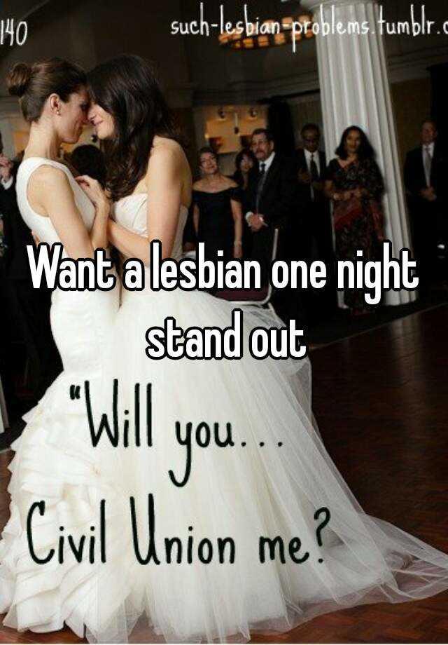 One Night Stand Lesbian