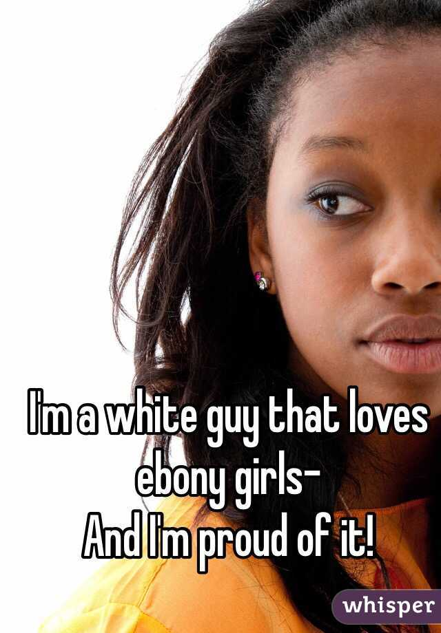 Ebony teen white guy
