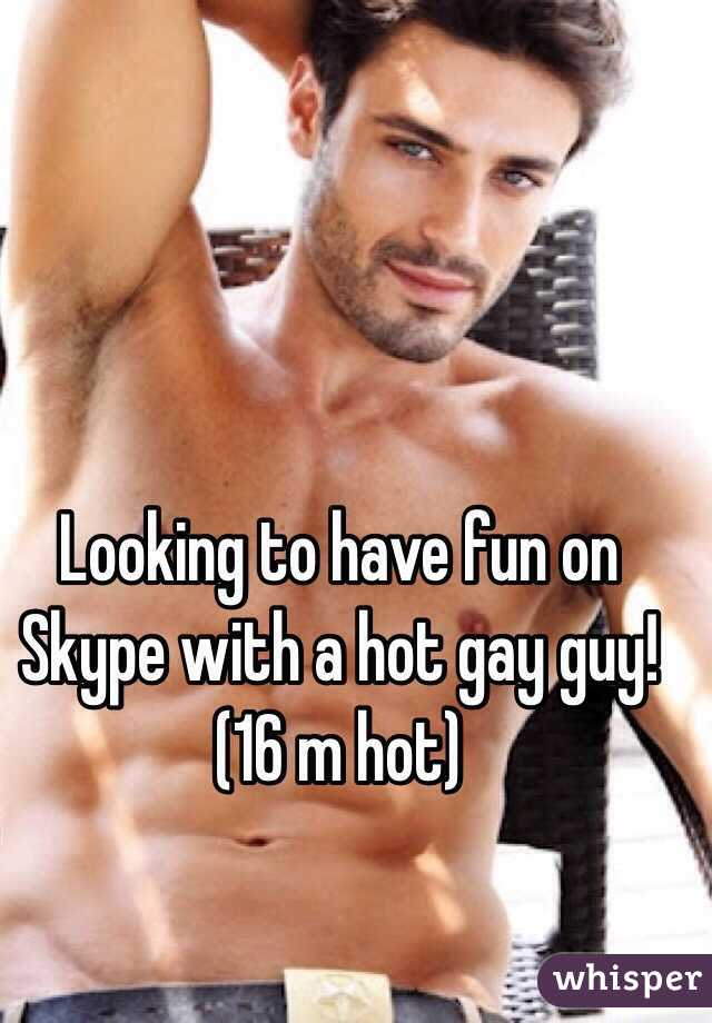 Hot gay fun