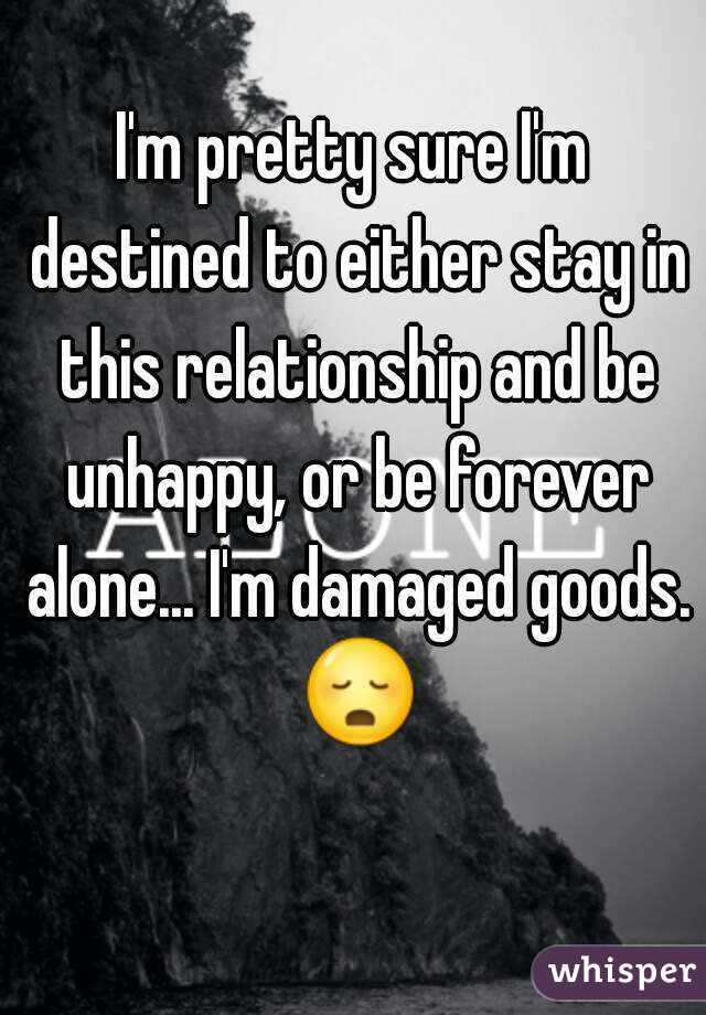 damaged goods relationship