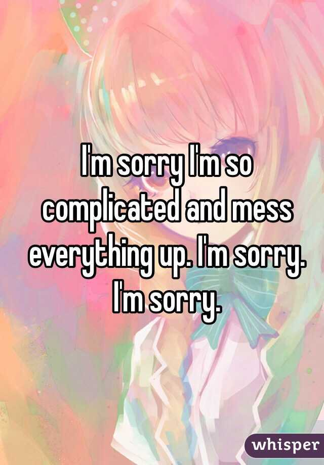 Awesome Im Sorry Sad Quotes Images - Valentine Gift Ideas ...
