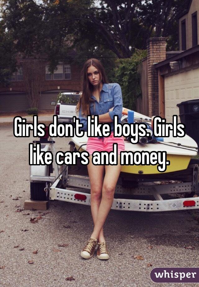 Girls dont like boys girls like cars and money Nude Photos 14