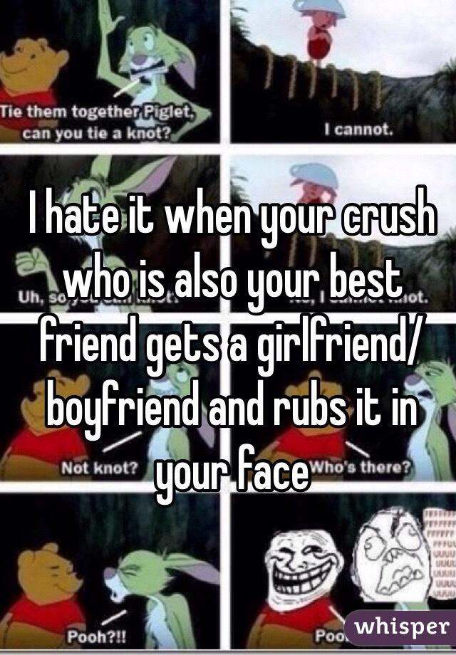 when your bestfriend gets a girlfriend