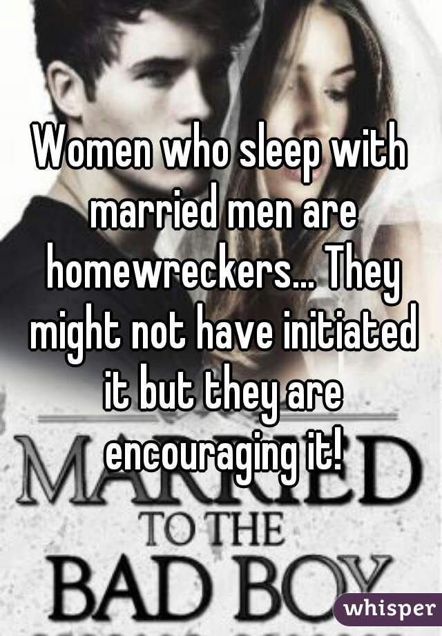 Women who sleep with married men