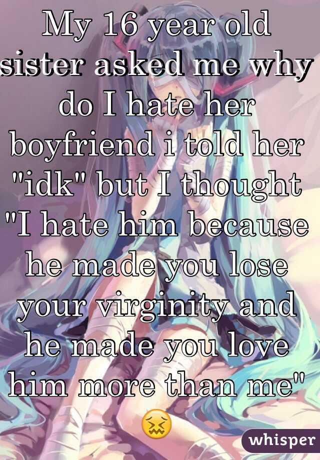 Losing virginity to sister exact