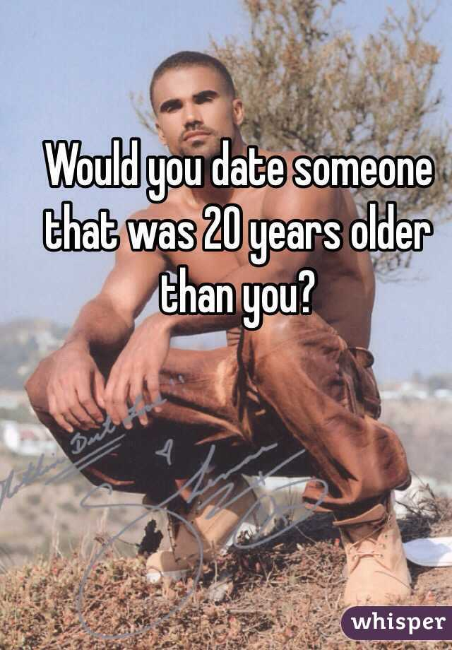 Can you date a girl older than you