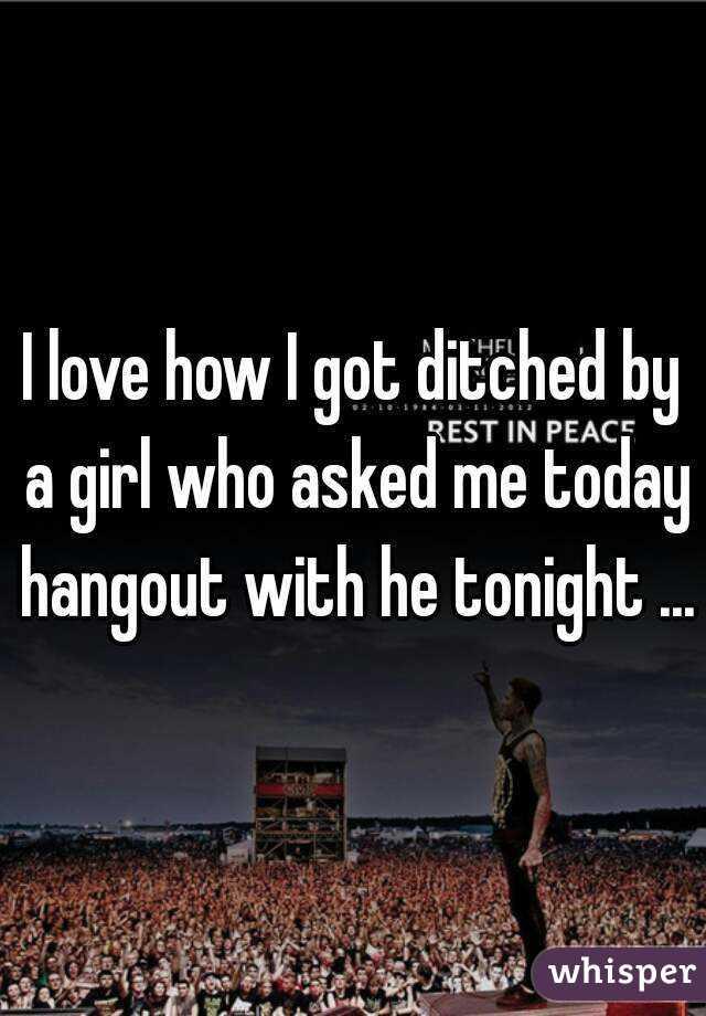 Got ditched