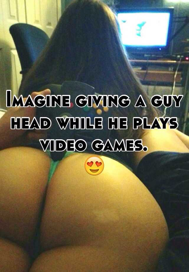 Girl giving head to a guy