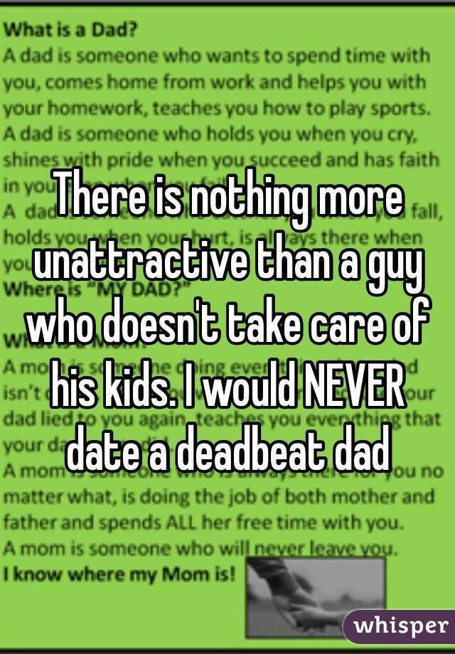 dating a deadbeat dad